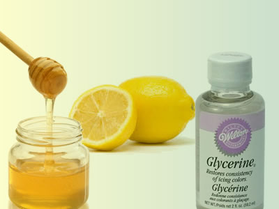 lemon-juice-glycerin-honey